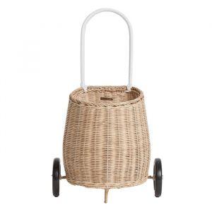 Boodschappenwagentje Luggy Basket straw Olli Ella