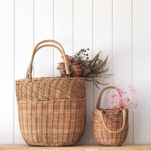 Bucket Bag groot naturel Olli Ella