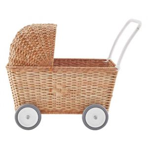 Poppenwagen Strolley Natural Olli Ella