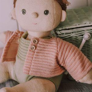 Dinkum Doll cardigan rose Olli Ella
