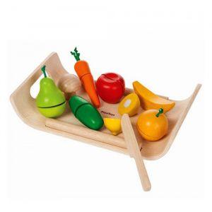Houten fruit en groenten Plan Toys