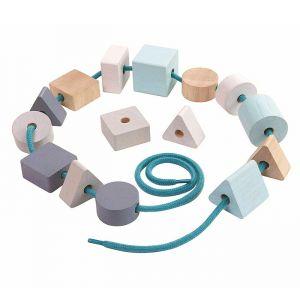 Houten kralenset Geo Plan Toys