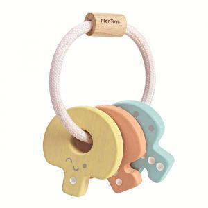 Houten sleutels pastel Plan Toys