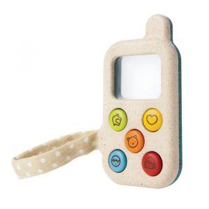 Houten speelgoedtelefoon My First Phone Plan Toys