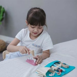 Houten tandartsenset Plan Toys