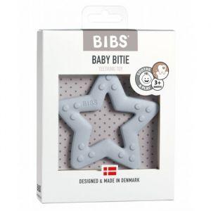 Siliconen bijtring Star baby blue Bibs