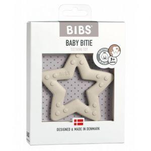 Siliconen bijtring Star ivory Bibs