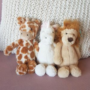 Knuffel Bashful giraf small (18cm) Jellycat