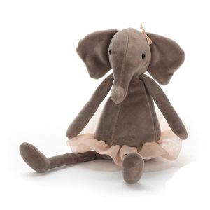Knuffel Dancing Darcey olifant medium (33cm) Jellycat