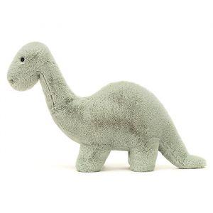 knuffel Fosilly Brontosaurus groen (26 cm) Jellycat