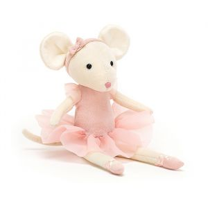 Knuffel Pirouette Mouse Candy (27 cm) Jellycat