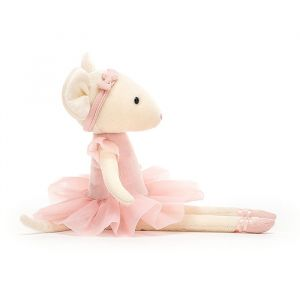Knuffel Pirouette Mouse Candy (27cm) Jellycat