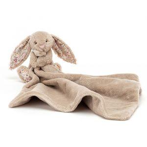 Knuffeldoek Blossom Bea Bunny beige Jellycat