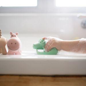 Tikiri bijt/badspeeltje Krokodil