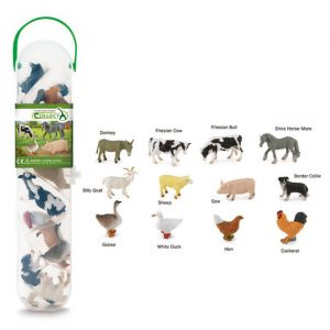 Speelset boerderijdieren (12st) Collecta