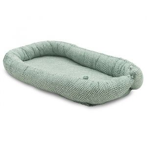 Babynest Snake ash green Jollein