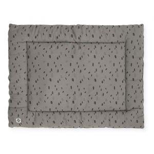 Boxkleed Spot storm grey (80x100cm) Jollein
