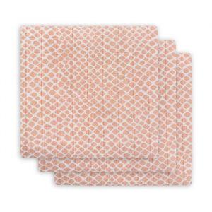 Hydrofiele doeken Snake pale pink (3st) Jollein