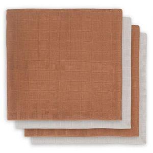 Bamboe hydrofiele doeken caramel (4st) Jollein