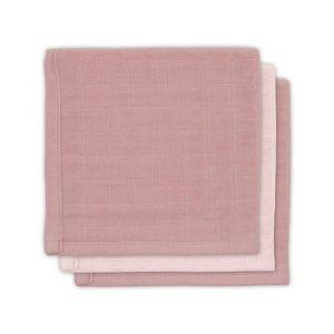 Spuugdoekjes bamboe pale pink (3st) Jollein