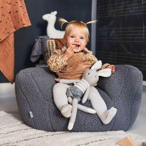 Kinderstoeltje Teddy storm grey Jollein