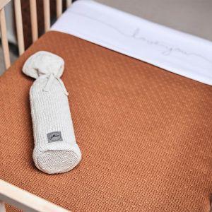 Kruikenzak Bliss knit nougat Jollein