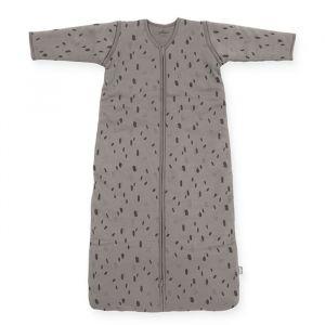 Slaapzak afritsbare mouwen Spot storm grey (90cm) Jollein