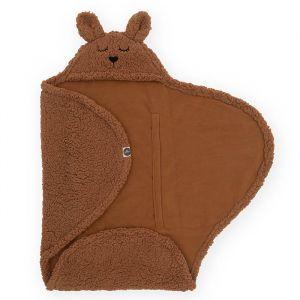 Wikkeldeken Bunny caramel Jollein