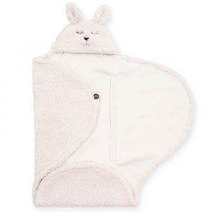 Wikkeldeken Bunny off-white Jollein