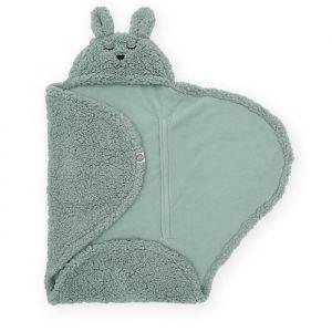 Wikkeldeken Bunny ash green Jollein