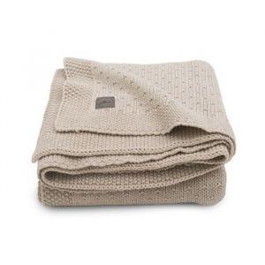 Wiegdeken Bliss knit nougat Jollein
