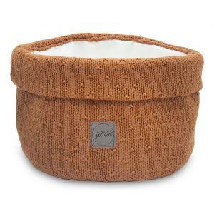 Mandje Bliss knit caramel Jollein
