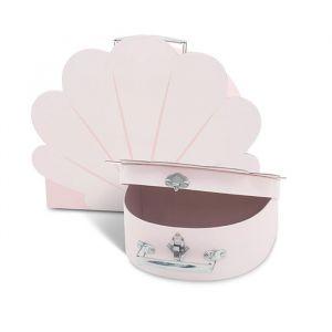 Speelkoffertjes Shell pale pink (2st) Jollein