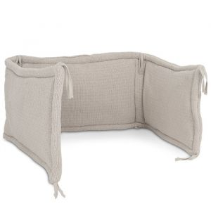 Bedbumper River Knit cream Jollein