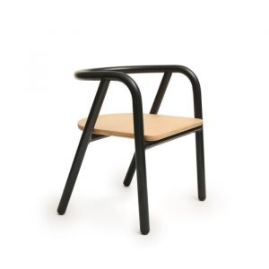 Kinderstoel HITO zwart Charlie Crane