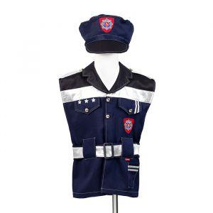 Politieman set 4-6jr (104-116cm) Souza