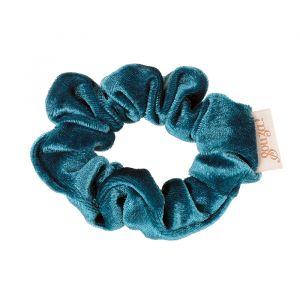 Scrunchy Titia velvet blauw Souza