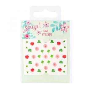 Nagelstickers bloemen Souza