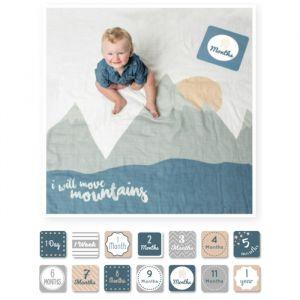 Baby milestone pakket Mountains Lulujo