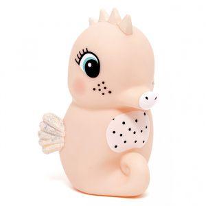 Nachtlampje zeepaardje peach Petit Monkey