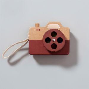 Houten camera bruin Petit Monkey