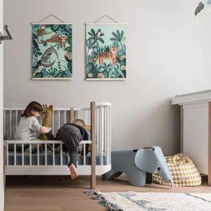 Poster wild animals 50x70 Petit Monkey