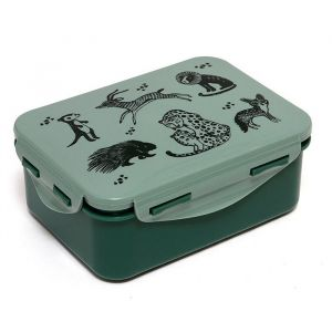 Lunchbox Black Animals salie Petit Monkey