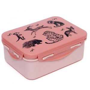 Lunchbox Black Animals blossom Petit Monkey