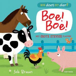 Kinderboek Hoe doet dit dier? Boe Boe (2+)