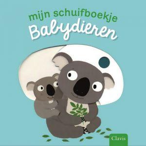Mijn schuifboekje: Babydieren (1+)