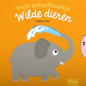Mijn Schuifboekje: Wilde dieren (1+)
