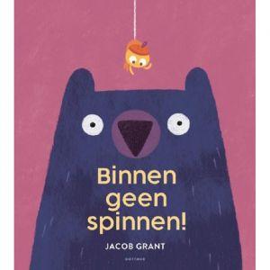Prentenboek Binnen geen spinnen! (4+)