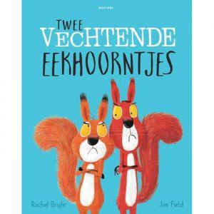 Prentenboek Twee vechtende eekhoorntjes (3+)