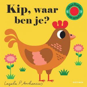 Prentenboek Kip, waar ben je? (2+)